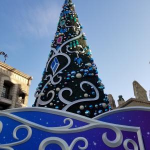 クリスマスのUSJ★キラキラのツリーの前でプロポーズしてもらえたら嬉しいな。って妄想。