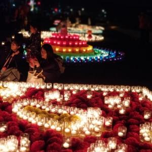 candle night 追手門学院大学 総持寺キャンパス