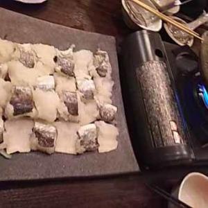 季節限定の美味しい鱧しゃぶ・酒肴・蕎麦 五反田 田治