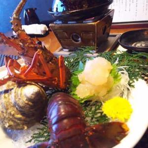 六左衛門での夕食 鏡ヶ浦温泉 rokuza