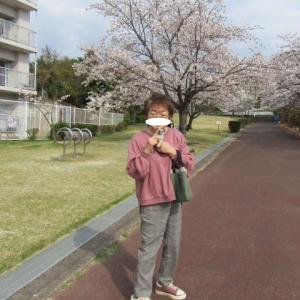 チビ亜生と、お散歩
