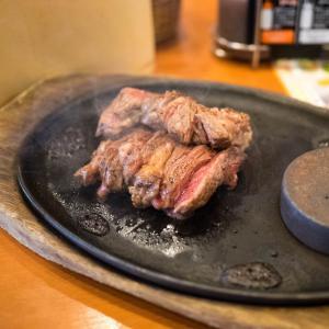 潔し!!「激アツステーキ」はシンプルイズベストで超美味し!!