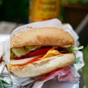 超美味しい「ハンバーガー」は超お得でした!!