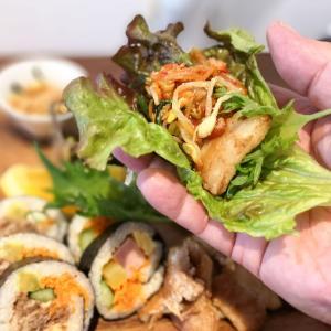 「サムギョプサル」に「キンパ」に「コムタンスープ」!!超美味しくボリューミーな韓国料理が超お得にいただけました!!