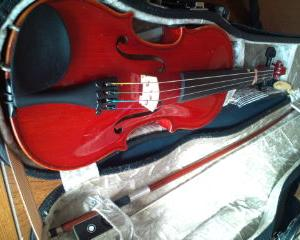 年内最後のヴァイオリン教室