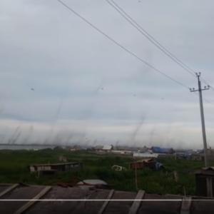 【悲報】ロシアで蚊が大量発生。蚊柱が巨大すぎて竜巻級になる