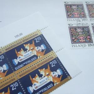 人気の切手が入手できました。