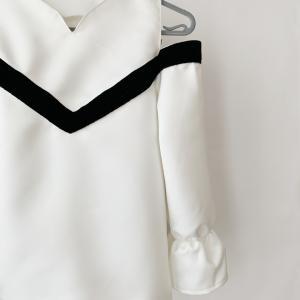 小学生女子のハロウィン仮装を作る5♪肩あきスリーブの作り方
