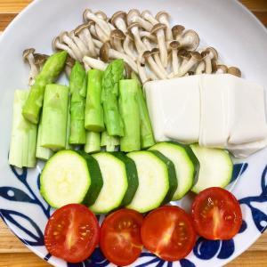 美容と健康を考えて、温野菜