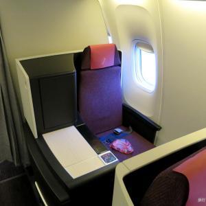 JAL国内線 国際線仕様機ビジネスクラス搭乗記