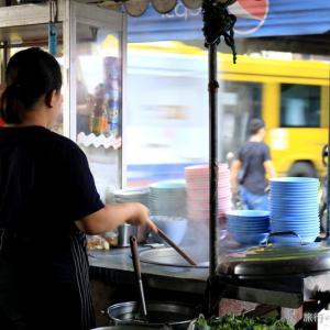 タイのローカル朝食!