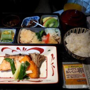 機内食 JL35(HND-SIN) 鮭朴葉味噌焼 ビジネスクラス