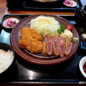 とんかつ薩摩 牛カツ&へれカツセット (ヨドバシ梅田店)