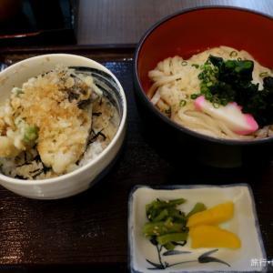 佐藤水産 穴子丼とうどんセット (新横浜駅)