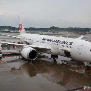 JL745ビジネスクラス搭乗記