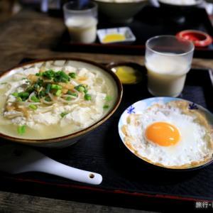 とうふの比嘉 ゆし豆腐そば (石垣島)