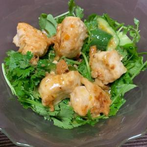 パクチーとチキンのベトナム風サラダ