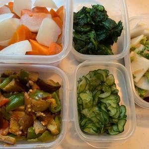 本日のつくおき〜野菜いっぱい