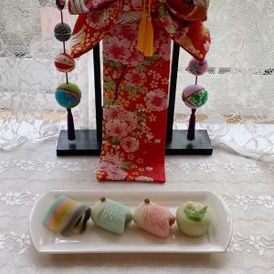 【和菓子】5月、子供の日の練りきりを作ってみました。