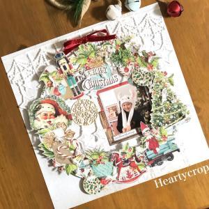 今年のクリスマスはリース作品