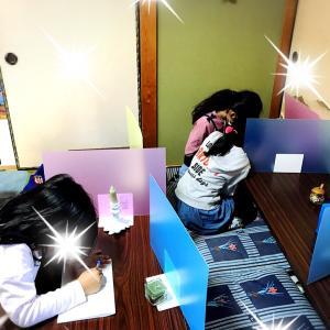 習字教室〜コロナ対策中…〜