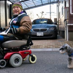電動車椅子の振動を直す。燃費のことを考える。
