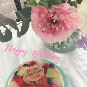 週末はおうちで誕生日を祝いました。