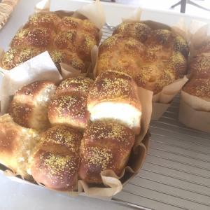 パンマイスとチョコシートのデニッシュ食パン