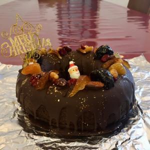 去年のクリスマスケーキ