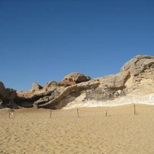 【エジプト】水晶の山と白砂漠