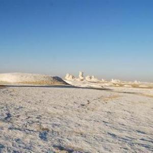 【エジプト】白砂漠の奇岩