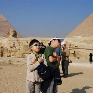 【エジプト】ピラミッドパノラマとスフィンクス
