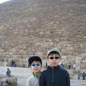 【エジプト】クフ王のピラミッド内部へ