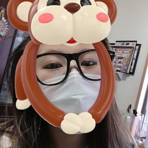 メガネが曇るっっ!!福山市ネイルサロンVividQueen