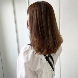 髪の毛をバッサリ切りました!