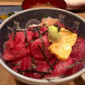 鉄火丼が1200円になった件。(割烹 和知 (わち)@赤坂)