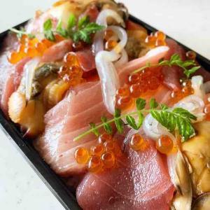 テイクアウトにもその実力がキラリ!お値段以上の海鮮チラシ、頂きました(マグロ専門 マグロマート @中野)