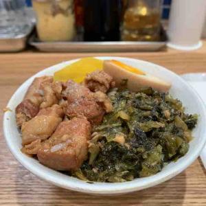 魯肉飯(ルーロー飯)が食べたく。(台湾バーガー 福包@中野)