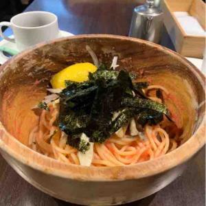 東中野駅前のスパゲッティ屋さんは、明大中野生ご用達で目立たない場所なのにいつも満席。(モーゼ (MOSES)@東中野)