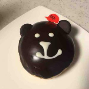 新宿フラッグス店に登場した世界初のギャップカフェはブラナンベアの形をしたドーナツがおススメです(ギャップカフェ (Gap cafe)@新宿)
