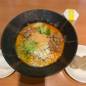 小洞天の担々麺は冷たくても小洞天の担々麺の味。(小洞天 大手センタービル店 (ショウドウテン)@大手町)