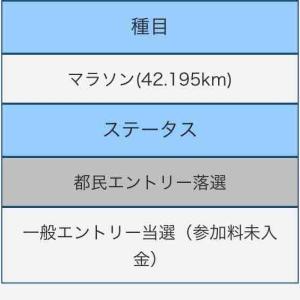 資格ゲッターが結構一丁前のランナーになるまでの話 その6(東京マラソン)