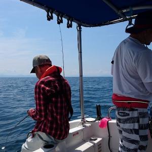 初めての大漁 6月22日