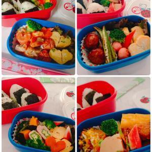 ◆二女の実習期間1ヶ月のお弁当◆