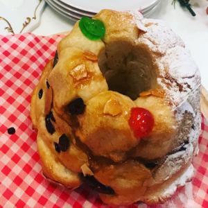 モンキーブレッド昨日は、初めましてのお客様3名さまで、クリスマスバージョンのモンキーブレ...