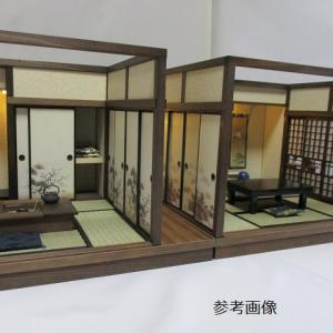 手作りドールハウス◆和1/12 昭和レトロ  2部屋ヤフオク出品中!!!