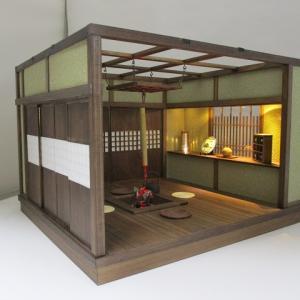 手作りドールハウス◆和1/12 囲炉裏 釣火棚 ヤフオク出品出品しました。
