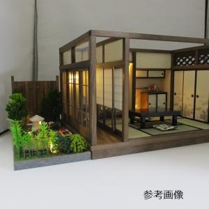 昭和レトロ6畳離れの間、板塀の中庭