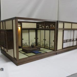 ヤフオク出品しました「京町屋店の間 置き囲炉裏」「6畳 奥の間」