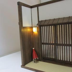 「手作りドールハウス◆和1/12 京町屋 玄関、おくどさん(竈)」ヤフオク出品しました。
